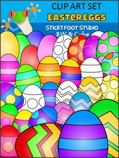 Easter Clip Art Freebie - Easter EggsThis Easter Egg clip art freebie contains all of the images shown in the thumbnails.  There are 30 high quality graphics in all.  Includes color and black and white graphics.  The graphics are transparent PNGs which can easily be layered and resized in your worksheets and products.**Please leave feedback and follow my store for more freebies**I hope you enjoy this clip art and find it useful.