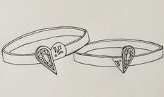 a pair of rings for the lover