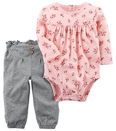 Carter's Baby Girls' 2 Piece Floral Bodysuit And Pants Se... https://www.amazon.com/dp/B0765TWXCH/ref=cm_sw_r_pi_dp_U_x_D2jjAb8XHRR1X