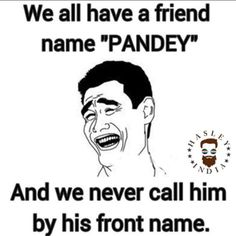 Pandey Ji