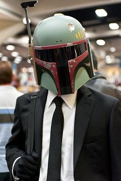 One day I'll be sending Boba, I mean Michael off to work... either that or my kids.
