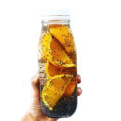 Chia-Wasser: der leckerste Diät-Drink   ELLE