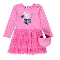 PEPPA PIG ~ Little Dancing Queen Dress & Handbag Set
