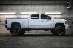 Custom Modified Lifted 2013 Chevrolet Silverado 2500HD LTZ 4x4 Truck For Sale | Northwest Motorsport