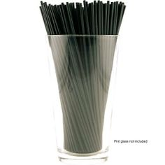 "Cocktail Stir Straws - 2500 Count - Black 7"" by KegWorks. $18.75. Long enough for stirring your tallest cocktails and wide enough to sip through.. Mix your drinks up and then suck them down with these practical cocktail stir sticks.. Made of black plastic.. Stay stocked and save cash! Each individual order scores you 2500 of these stirrer-straws.. Use as a stirrer and a straw!. Mix your drinks up and then suck them down with these practical cocktail stir sticks. These black pl..."