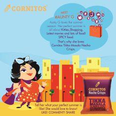Aunty G loves Tikka Cornitos Tikka Masala Nacho Crisps!