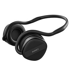 AUKEY Bluetooth Headphones, Foldable On-ear Earphones with 24 Hours Playtime, Built-in Microphone for IPhone, Android Smartphones… #deals