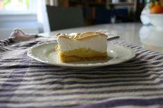 Bakken en Boeken: Bakken: citroen meringue taart