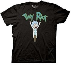 This Rick And Morty shirt spotlights features the one and only Tiny Rick! - Officially licensed Rick And Morty T-shirt - Standard Adult Men's sizes and Fit - Printed and Designed by Ripple Junction -