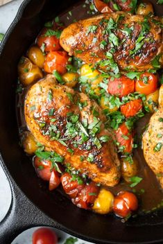 Frugal Food Items - How To Prepare Dinner And Luxuriate In Delightful Meals Without Having Shelling Out A Fortune Balsamic Mustard Chicken W Cherry Tomatoes Cherry Tomato Recipes, Chicken With Cherry Tomatoes Recipe, Mustard Chicken, Balsamic Chicken, Cooking Recipes, Healthy Recipes, Healthy Meals, Everyday Food, Easy Chicken Recipes