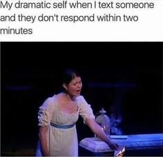 But let's be real: sometimes, a dramatic overreaction just feels right. Hamilton Broadway, Hamilton Musical, Stupid Funny Memes, Funny Relatable Memes, Funny Stuff, 9gag Funny, Pippa Soo, Hamilton Fanart, Alexander Hamilton