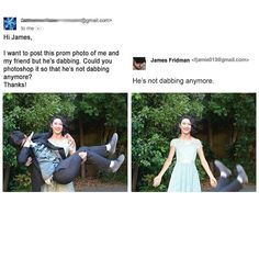 James Fridman - Photoshop Artist Would Hilariously Fix Your Photos