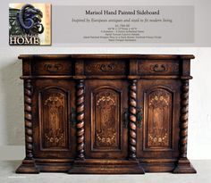 Old World Tuscan Style Furniture