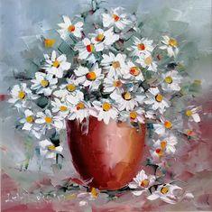 Oare în zilele acestea, când există atât de multe opțiuni, mai face cineva ceai și din flori de mușețel? În copilărie știu că era nelipsit din cămară ... alături de florile de tei, uscate, altă minunăție 😊 Flowers, Painting, Paintings Of Flowers, Pictures, Painting Art, Paintings, Royal Icing Flowers, Painted Canvas, Flower