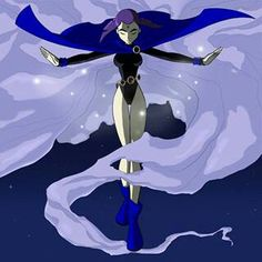 Raven from Teen Titans!!
