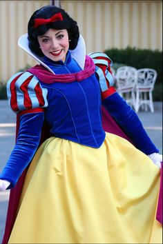 Snow White decked out in her winter gear :)