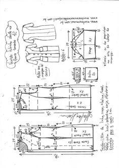 Blusa gola redonda e manga copinho tipo spencer T Shirt Sewing Pattern, Pattern Drafting, Sewing Clothes, Diy Clothes, Clothing Patterns, Sewing Patterns, Dress Paterns, Sewing Collars, Knitting Paterns