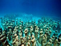 #Bucketlist No. 37 - Snorkelen in het Onderwatermuseum, Mexico!