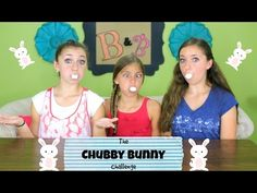 I want to play chubby bunny with my family sometime..... Thanksgiving family reunion idea?!?!?