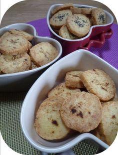 """Biscuits sablés apéritifs - """"Mes brouillons de cuisine !"""""""