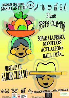 21a Festa Cubana de l'Ateneu del Món, la festa estiuenca de la #solidaritat a Sant Quirze del Vallès #SQV