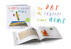 Oliver Jeffers - Picture Books - The Day The Crayons Came Home