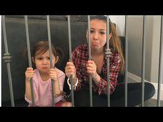 BABYSITTER AND LITTLE GIRL IN JAIL IRL! Little Girl pranks babysitter and both end up in Jail! - YouTube