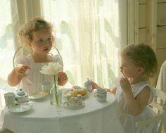 .little girls tea party