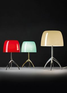 Foscarini Lumiere Grande tafellamp met dimmer en aluminium onderstel • de Bijenkorf