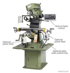 VMC Turret Mill - Vertical Milling Machine