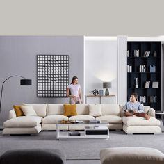 Feathers Sectional – Valyōu Furniture