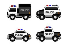 Police Car Set by In-Finity Police Car Set. Classic Black and White Colors. Police Birthday Cakes, Police Crafts, Police Stickers, Community Helpers Preschool, Police Patrol, Truck Coloring Pages, Car Vector, Education Humor, Early Education