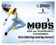 This Wedding Season look Slim and Fit                              With                         *ZUMBA* Only@ Move On Beat Dance Studio & Event Management Company  Come Enrol & Get Exclusive Offers  *Zumba for teens *Zumba for kids   Call us: 9125503637, 7276268861 Address: Shop No.8, Bldg No.9, 1st Floor, Siddharth Nagar, Opposite Snehanjali Showroom, Sheetal Nagar, Mira Road East