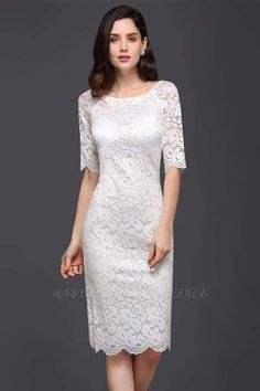 Looking for in Lace, A-line style, and Gorgeous Lace work? Babyonlinewholesale has all covered on this elegant CLAIRE Cheap Dresses Online, Cheap Prom Dresses, Homecoming Dresses, Casual Dresses, Fashion Dresses, Formal Dresses, Party Dresses, Affordable Evening Dresses, Evening Dresses With Sleeves