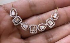 Mangalsutra Design, Diamond Mangalsutra, Diamond Jewellery, Diamond Bracelets, Gold Bangles, Diamond Earrings, Beaded Jewelry, Unique Jewelry, Pendant Design