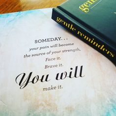 You will make it.