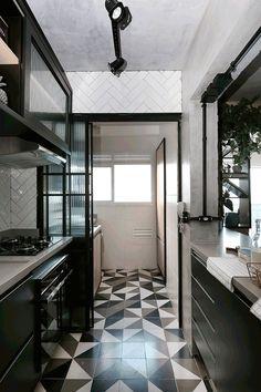 Home Design Loft Inspiration 27 Trendy Ideas Industrial Apartment, Industrial Interior Design, Industrial House, Interior Modern, Kitchen Room Design, Interior Design Kitchen, Design Loft, Design Homes, Deco Design