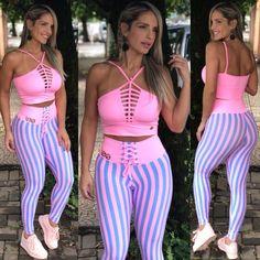Legging Cadarço Candy Gym Back Workout, Workout Wear, Knit Leggings, Leggings Are Not Pants, Sports Leggings, Workout Leggings, Sexy Workout Clothes, Sports Bra Outfit, Estilo Fitness