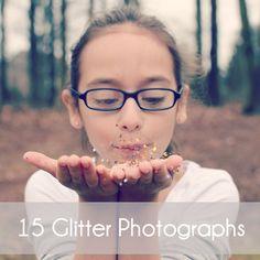 15 glitter photographs