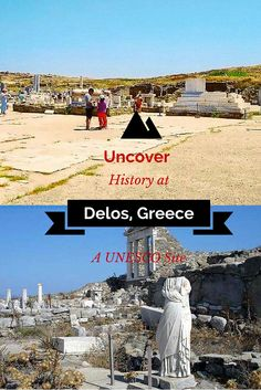 Delos, Greece, is the home to mythical twins Apollo and Artemis, children of Zeus. This pristine, protected land is amazing to tour and explore ancient Greek ruins.