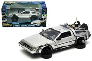 DeLorean Time Machine Flying Version Back To The Future II 1/24 Scale By Welly 22499