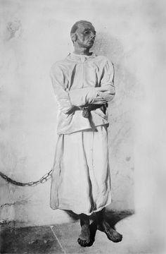 Image result for mental hospital patient uniform