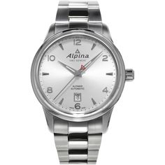 good size, bracelets are more flexible (formal, sport, bath), not an exciting option - Alpina Alpiner Automatic Silver Dial Stainless Steel Men's Watch AL-525S4E6B