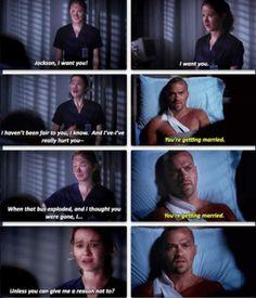 April & Jackson. Grey's Anatomy.