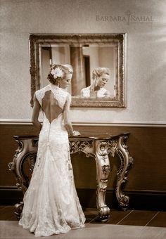 Elegant Bride Portraiture by Edmonton Wedding Photographer Barbara Rahal
