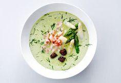 Sund aftensmad på max 30 minutter   Iform.dk Tofu, Avocado, Zucchini Puffer, Soup Recipes, Healthy Recipes, Frisk, Pesto, Broccoli, Chile