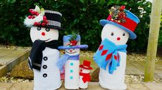 Beautiful Outdoor Christmas Snowman