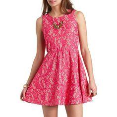 Lace Skater dress <3