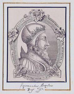 Król Zygmunt August.