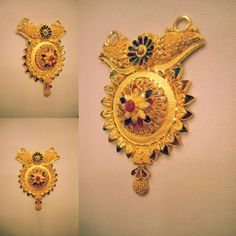 Where Sell Gold Jewelry Refferal: 4024177714 Gold Mangalsutra Designs, Gold Jewellery Design, Gold Jewelry, Flower Earrings, Gold Earrings, Gold Pendant, Pendant Jewelry, Sell Gold, India Jewelry